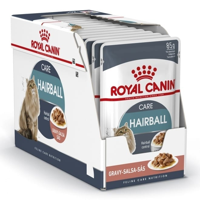 Royal Canin Hairball Care in Gravy 12x85 g