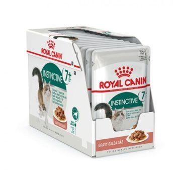 Royal Canin Instinctive +7 in Gravy 12x85 g