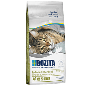 BOZITA INDOOR & STERILISED CHICKEN