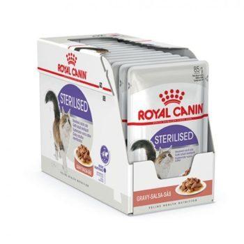 Royal Canin Sterilised in Gravy 12x85 g