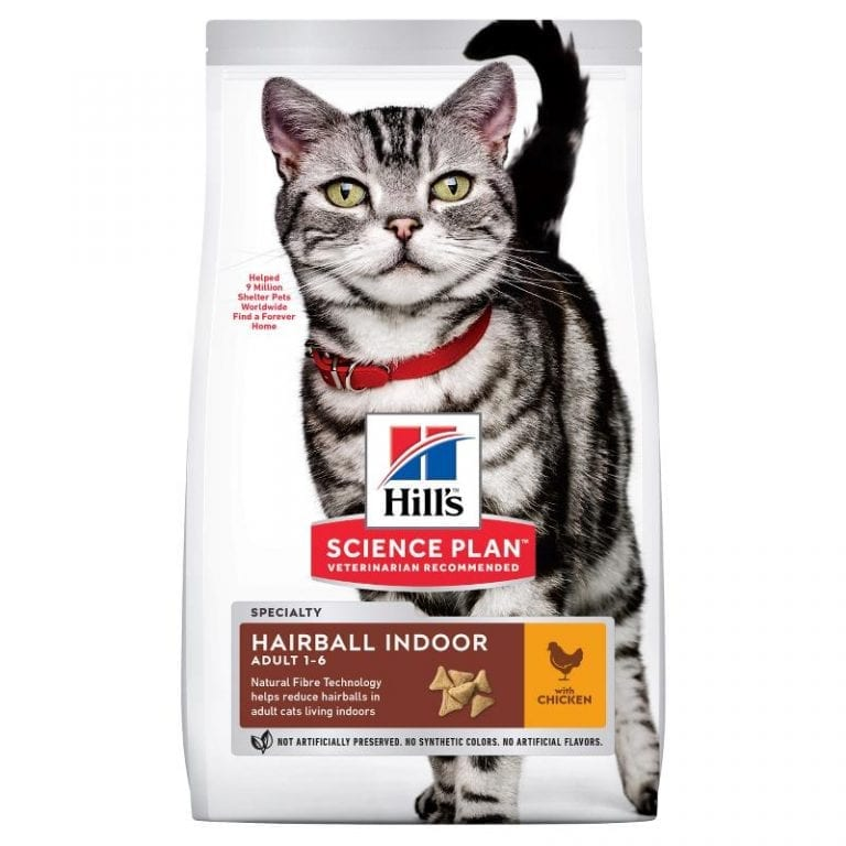 Hill`s Adult Hairball Indoor Chicken