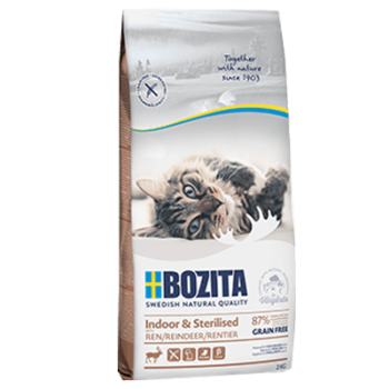 BOZITA INDOOR & STERILISED GRAIN FREE REINDEER