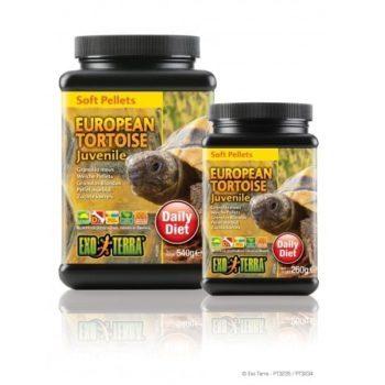 Exo Terra Soft Pellets Europeisk Landskilpadde Voksne hos Tropehagen