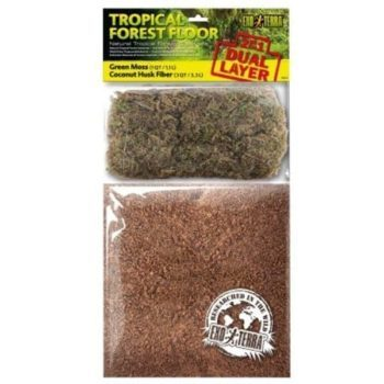 Exo Terra Tropical Forest Floor hos Tropehagen