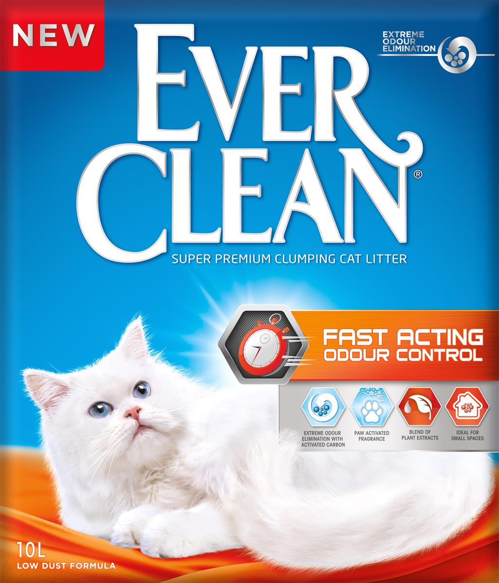 Ever Clean Fast Acting Kattesand 10 L