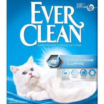 EVERCLEAN EXTRA STRONG CLUMP UNSCEN 10L