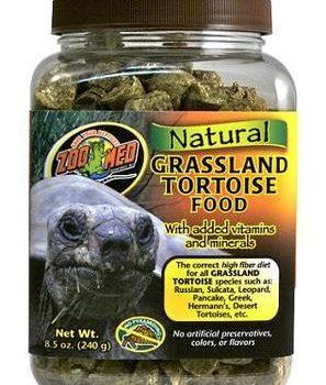 240 gr Zoo Med Natural Grassland Landskilpadde Pellets_Tropehagen