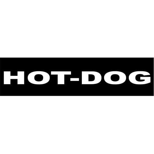 Hot-Dog label Tropehagen