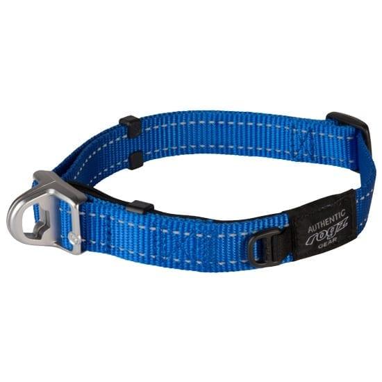 ROGZ SAFETY HALSBAND UTILITY blå