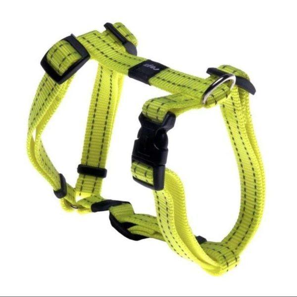 rogz-dog-harness-utility-yellow