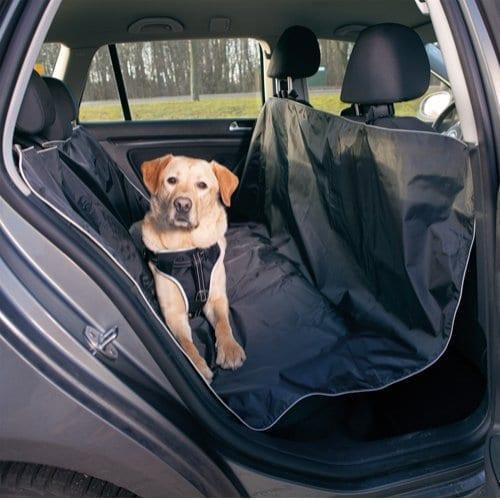 Trixie Bilseteteppe Hund Polyester/Bomull Sort 145 x 160 cm