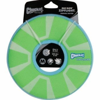 Chuckit! Selvlysende Frisbee M