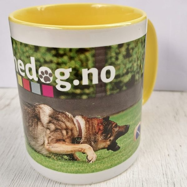 Gamedog.no krus gult