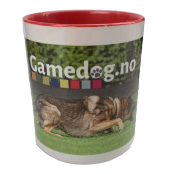 Gamedog.no krus rød