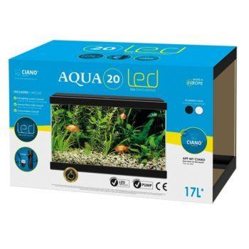 Akvarium Svart Aqua 20 Ciano