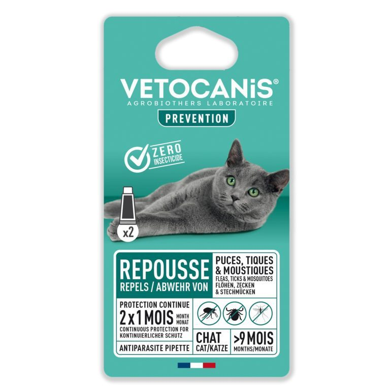 Anti-parasit Spot on Katt Vetocanis
