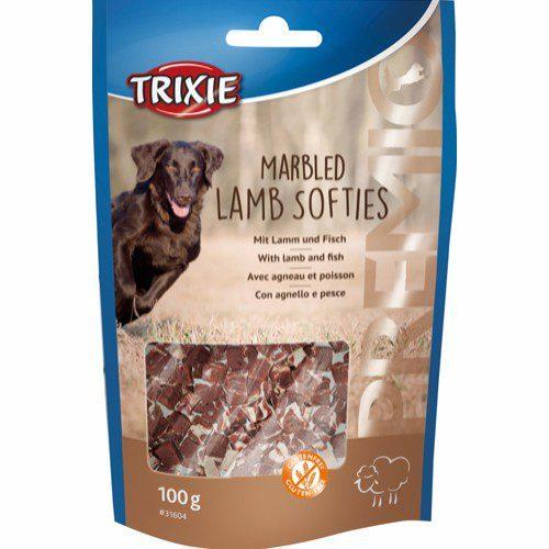 Trixie marbled lamb softies