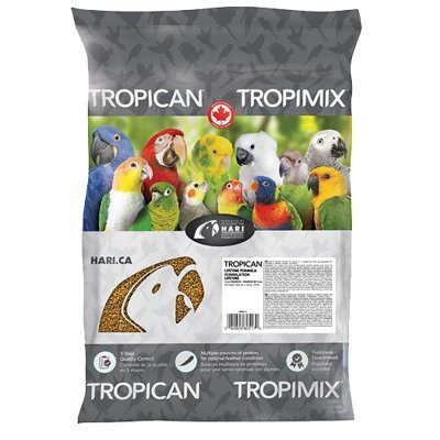 Tropican Lifetime formula 11,3kg til parakitter