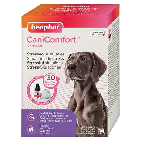 beaphar canicomfort diffuser beroligende hund