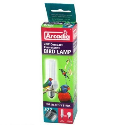 uv-lampe fugl arcadia