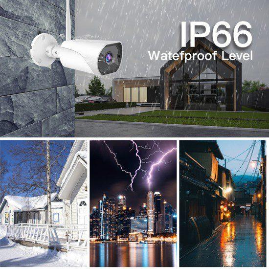 C13S 1080P IP66 vanntett kamera