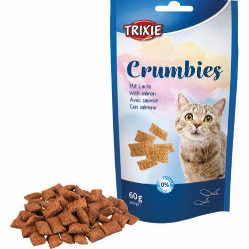 kattesnacks crumbies trixie laks taurin