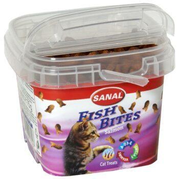 Sanal Fish Bites katt 75g