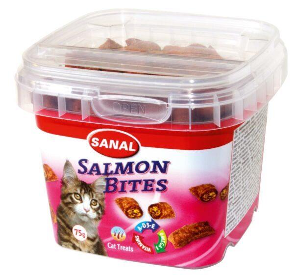 • Omega-3 fettsyrer som hjelper å holde hjertte og blodårene friske • Crunchy på utsiden med myk laksefylling • Med vitamin A, D3 og E