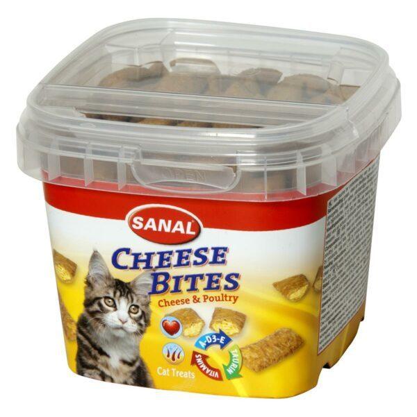 Sanal cheese Bites katt 75g