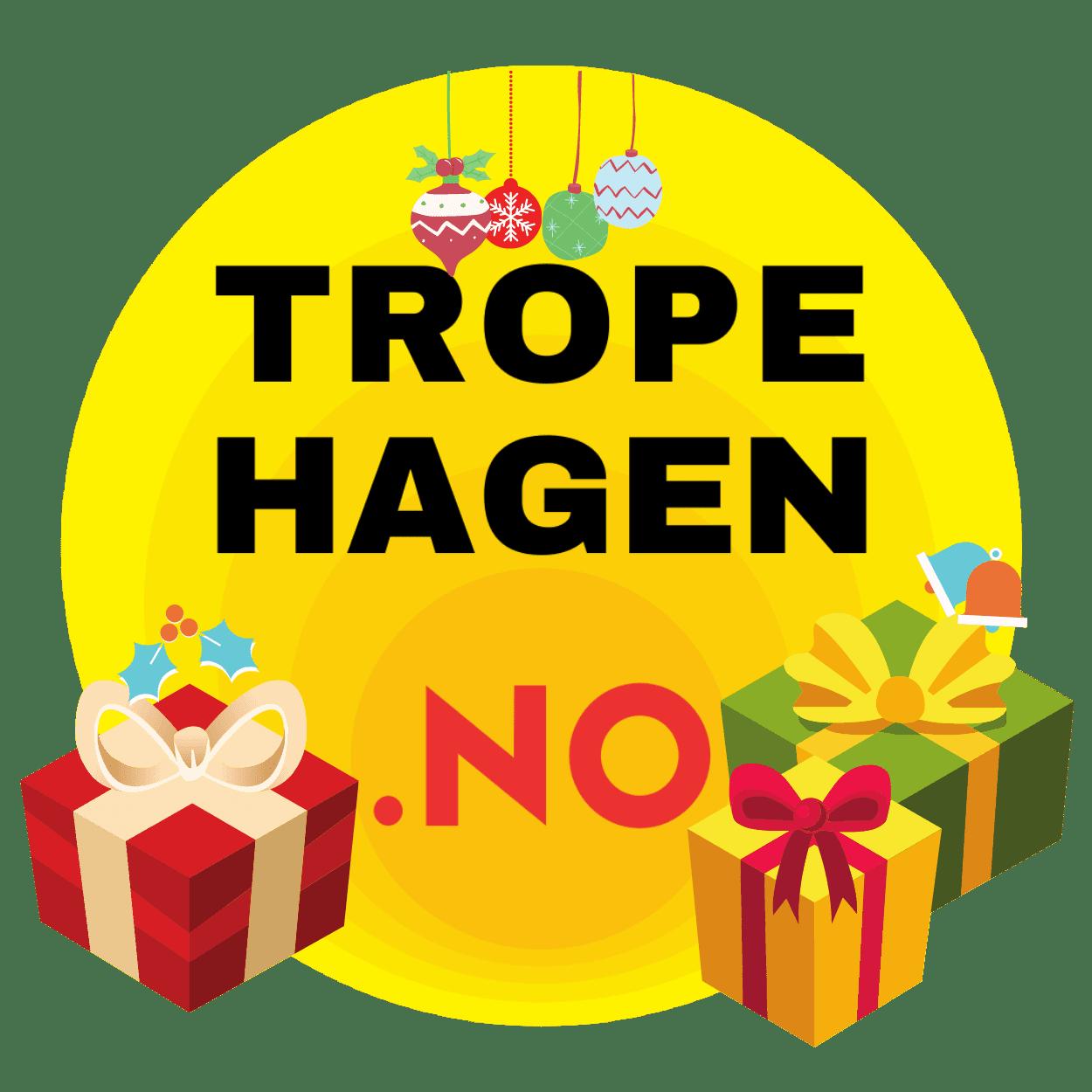 Tropehagen.no julelogo