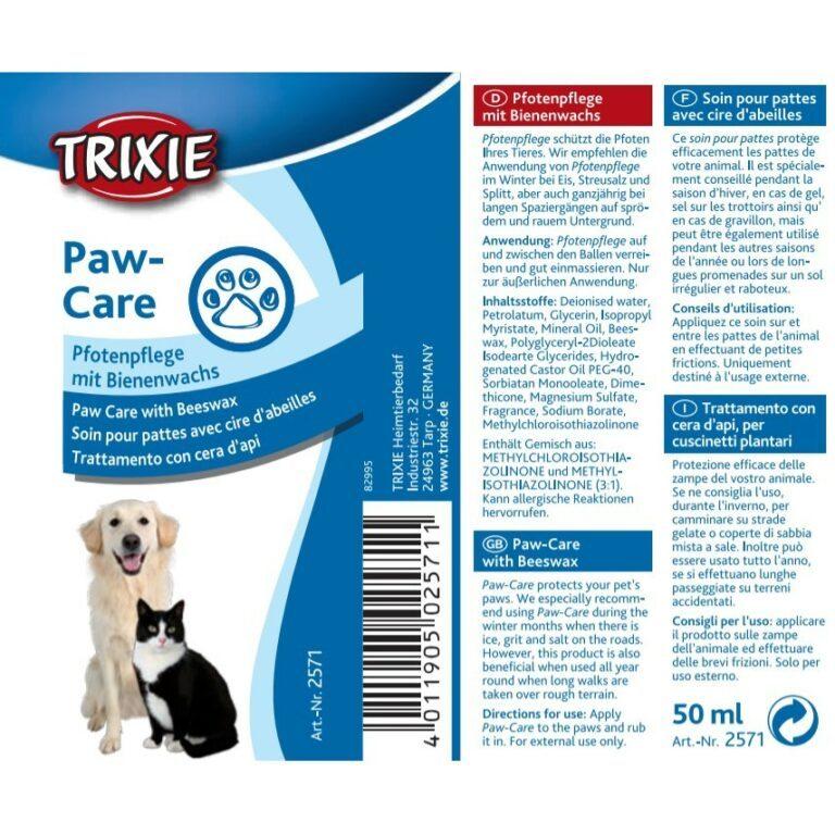 Trixie paw care potevoks potesalve