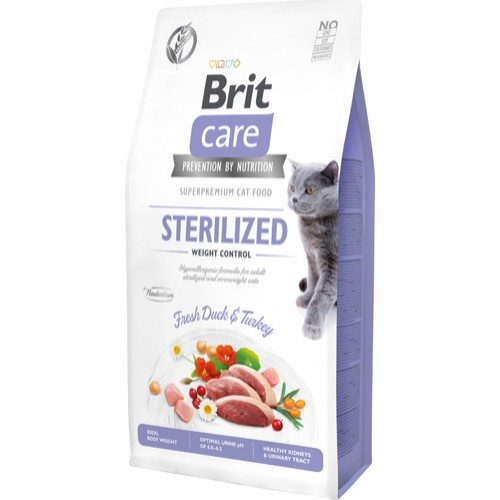 Brit Care Sterilized and weight control