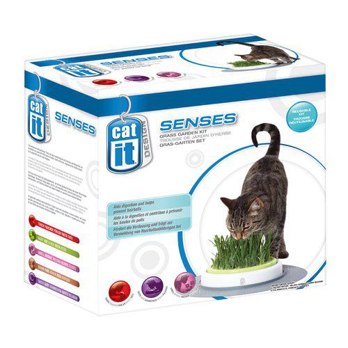 catit senses grass planter kattegress stasjon