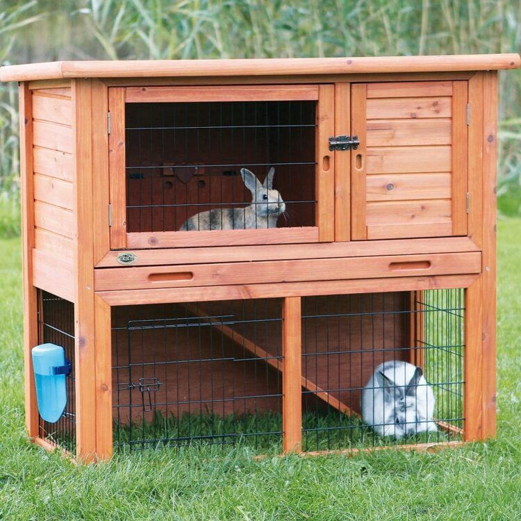 Natura kaninbur med luftegård