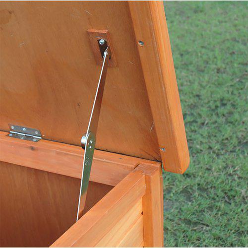 Utebur ferie XL 2etg med rampe 134.5x70.5x128.6cm