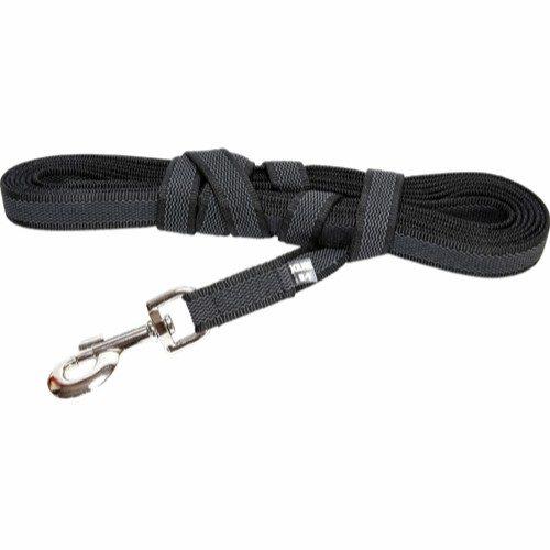 K9 super grip line, sortgrå uten håndtak