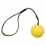 Sporting rubber ball med nylonbånd