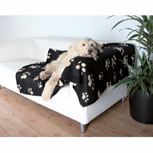 Trixie Barney Flisteppe til Hund Sort/Beige 150x100cm