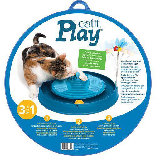 Play-n Scratch massasje katteleke blå