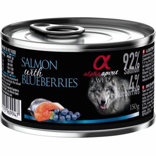 Alpha Spirit laks og blåbær-monoprotein
