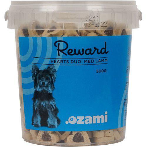 Hundegodt-trening snacks 500gram i bøtte