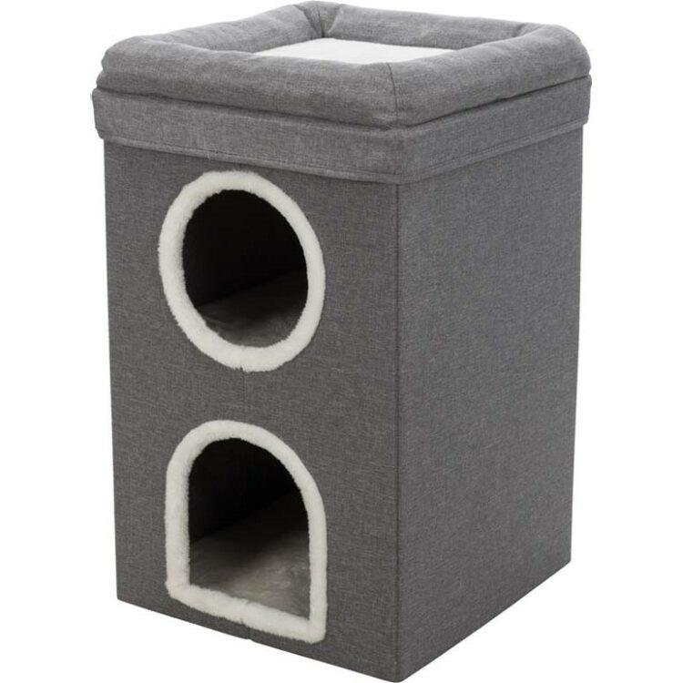 Saul Kattetårn 39×h64×39cm, grå