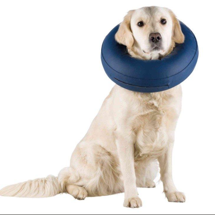 trixie oppblåsbar hundekrage protective collar inflatable hundeskjerm
