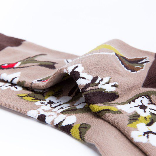 hummingbird brun sokk