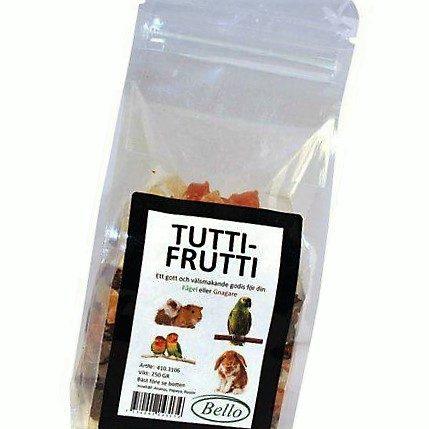 Tuttifrutti fugl og smådyrsnacks