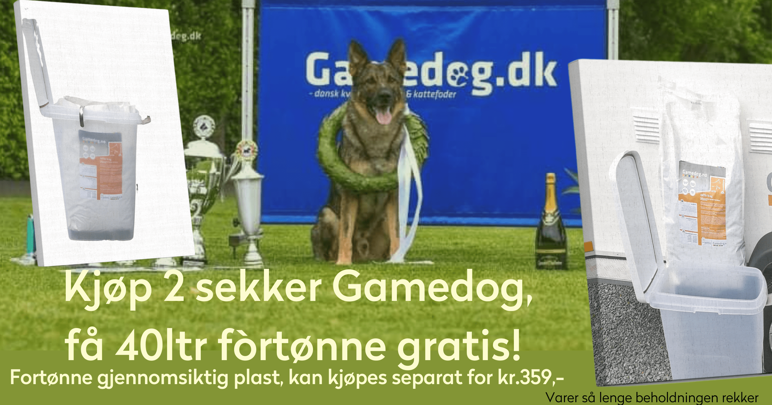Tropehagen Gamedog