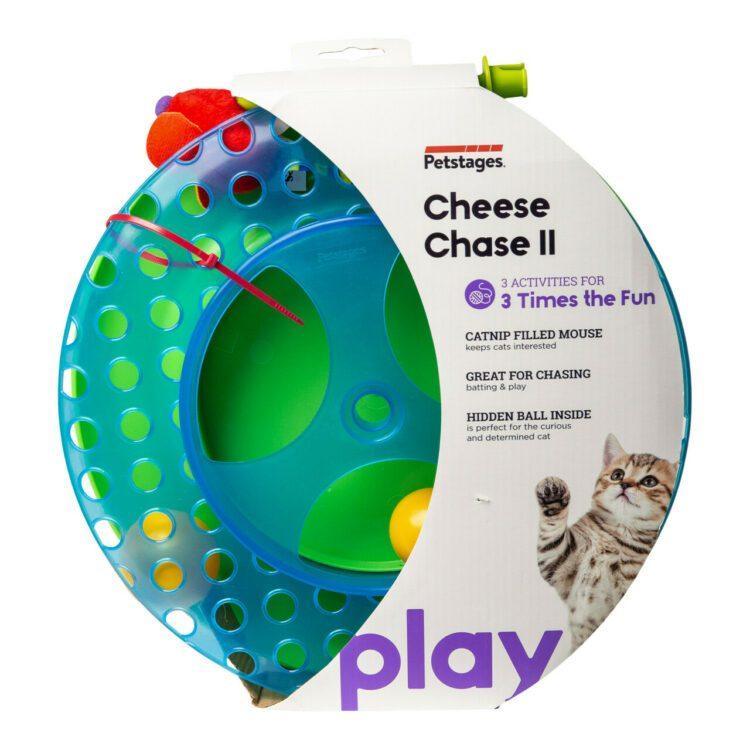 Petstages katteleke Cheese Chase med Catnip