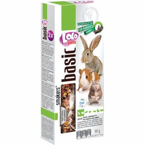 smakers frøstenger lolo snacks kanin gnager